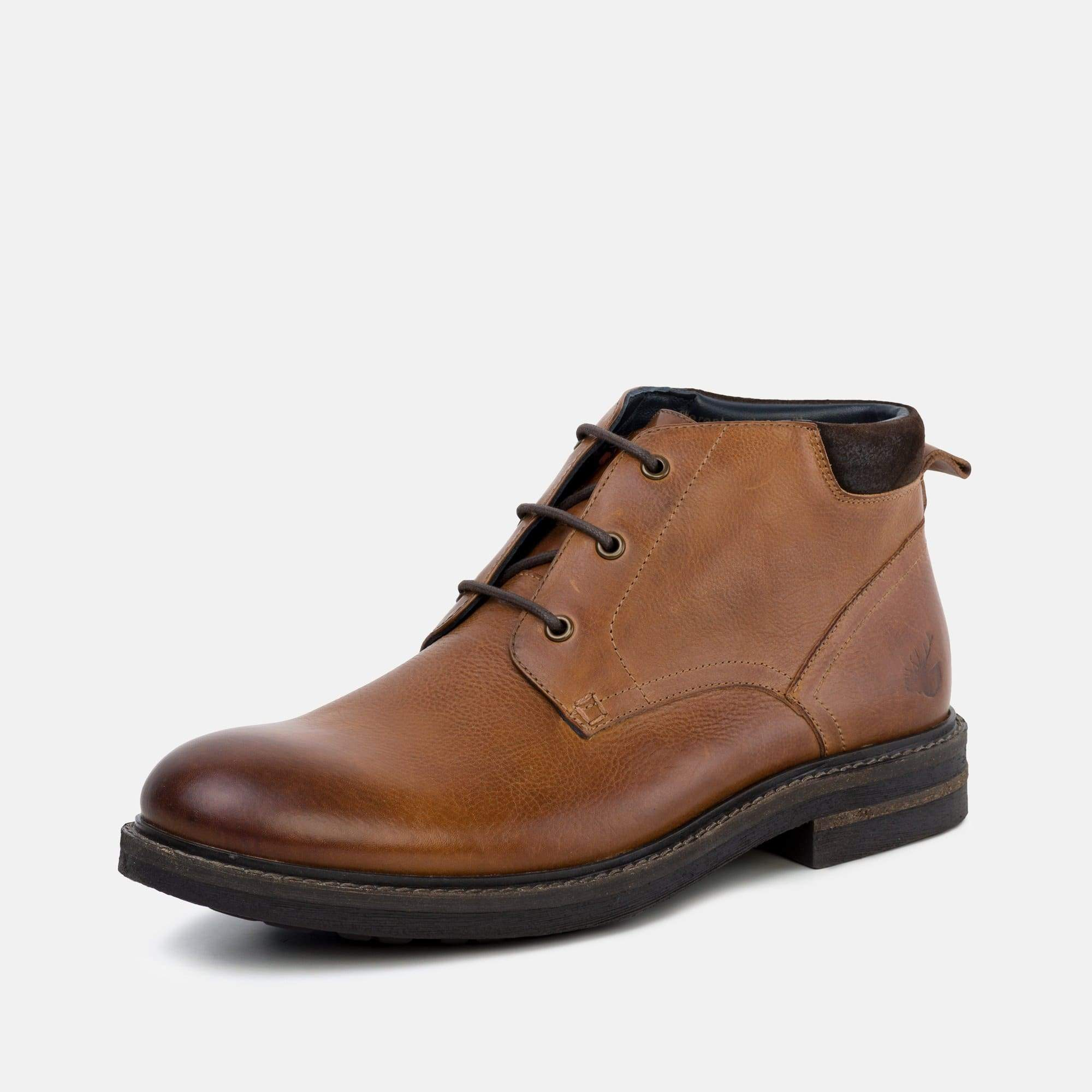 Goodwin Smith Footwear Regis Tan Classic Leather Chukka Boot