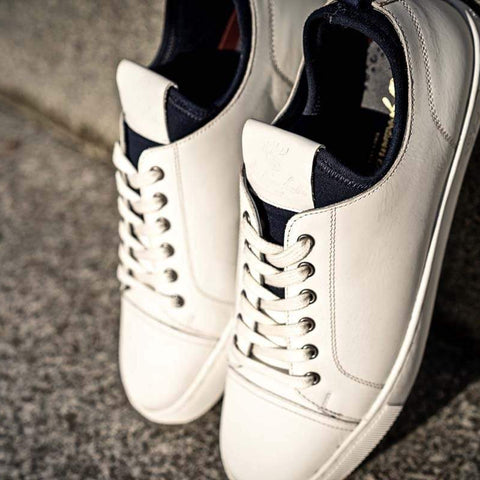 Goodwin Smith Footwear UK 6 / EURO 39 / US 7 / White / Leather ROBSON WHITE