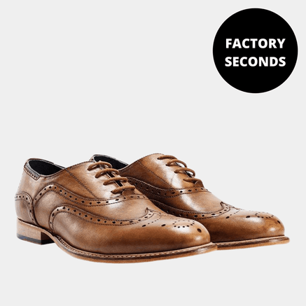 Goodwin Smith Footwear TAN BRISBANE SHOE FACTORY SECONDS - (UP TO SIZE 14)