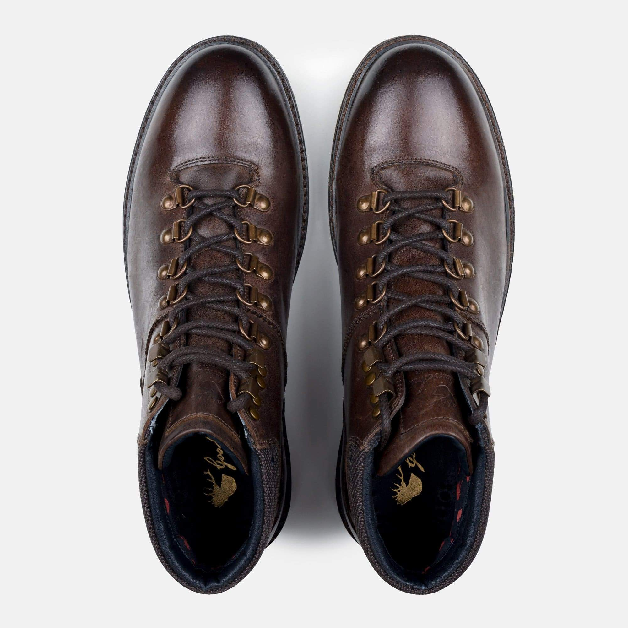 Goodwin Smith Footwear Tremont Brown Hiker Inspired Leather Boot