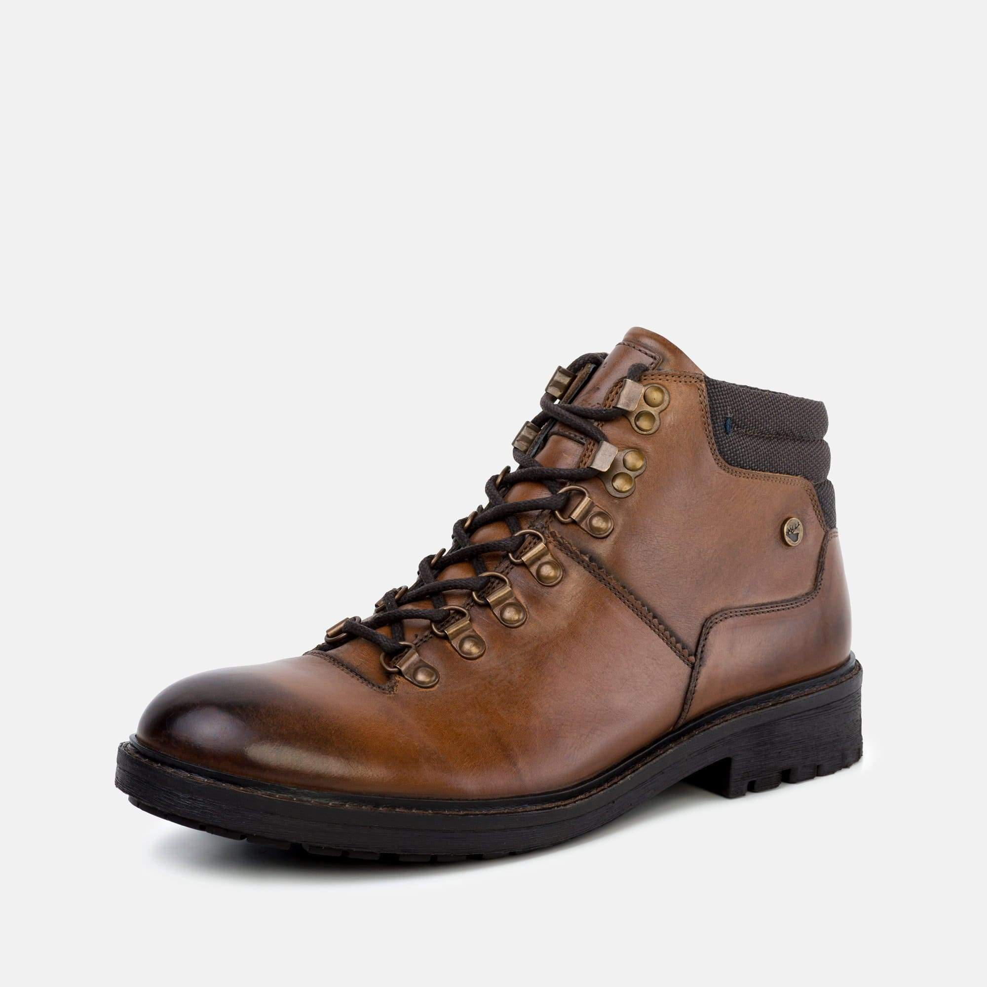 Goodwin Smith Footwear Tremont Tan Hiker Inspired Leather Boot