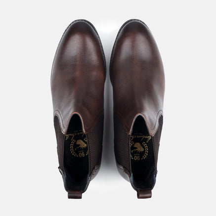 Goodwin Smith London Edit Footwear LE CAMDEN BROWN