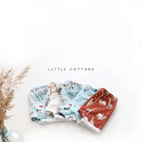 little cottons // shorts S S 1 8