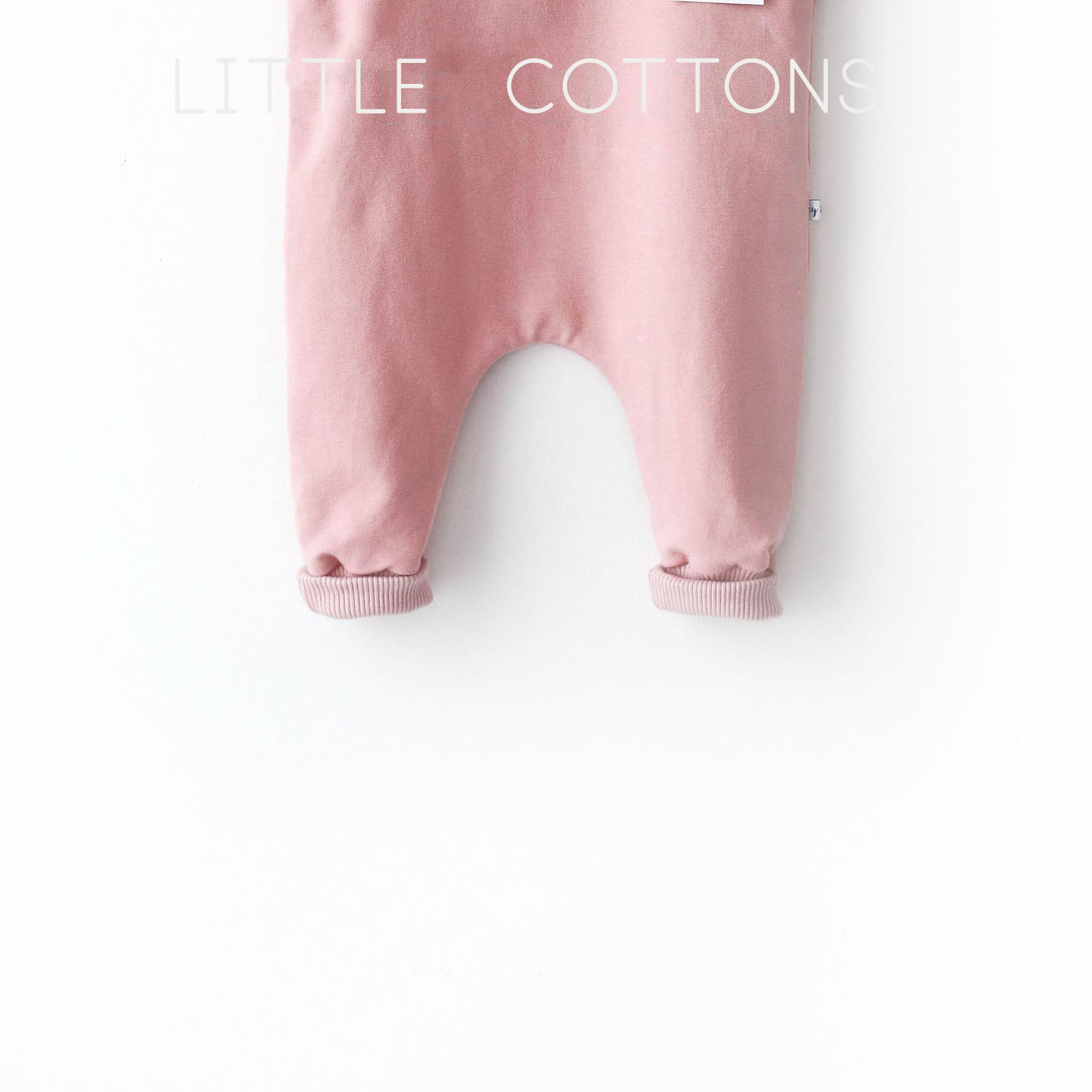 FLAMINGO Basic Dungarees - knotted or wooden buttons