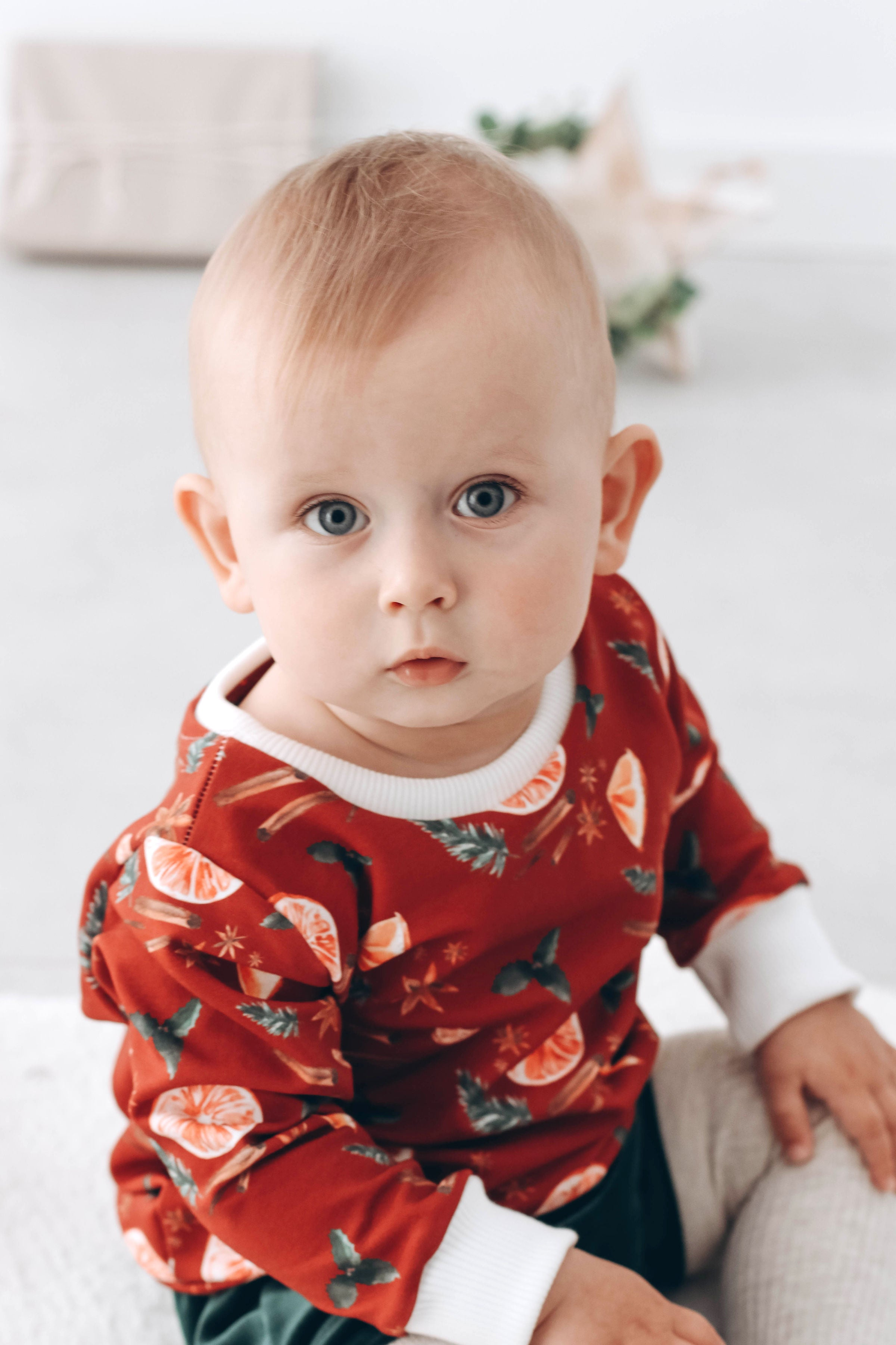 READY TO SHIP  -  Mulled Wine Sweatshirt 9-12 mths