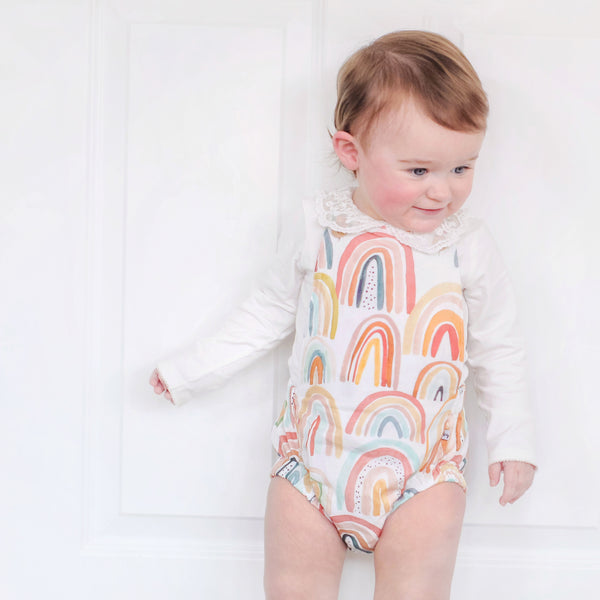 SoHo Rainbow Romper - {Baby toddler  - newborn - 2 yrs}