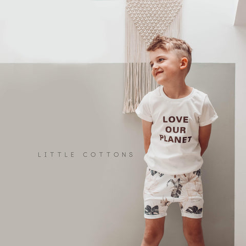 Love Our Planet t-shirt  {0-5 yrs }