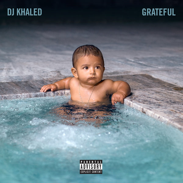 "White BLESS UP Dad Hat + DJ Khaled - ""Grateful"" Digital Album"