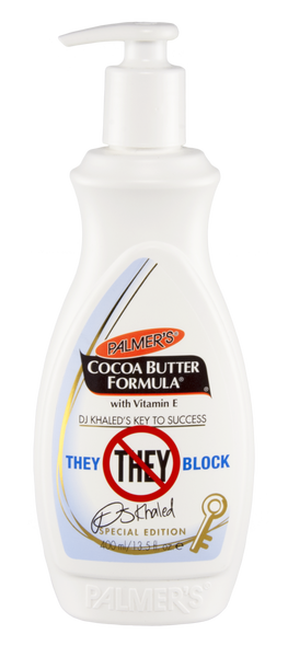 DJ Khaled Special Edition Palmer's Cocoa Butter THEY BLOCK 13.5oz
