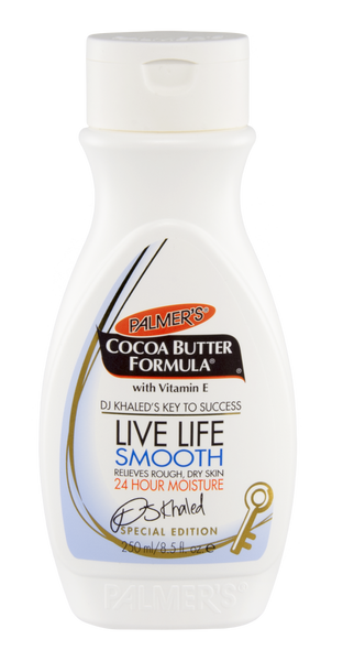 DJ Khaled Special Edition Palmer's Cocoa Butter LIVE LIFE SMOOTH 8.5oz