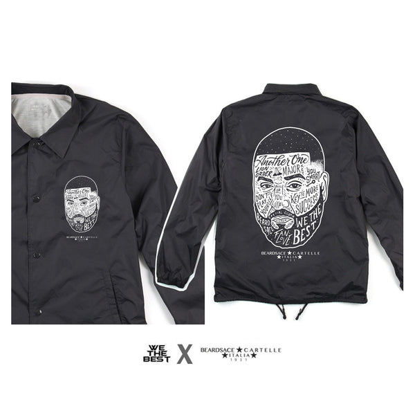 DJ KHALED X BEARDSACE COLLAB WINDBREAKER