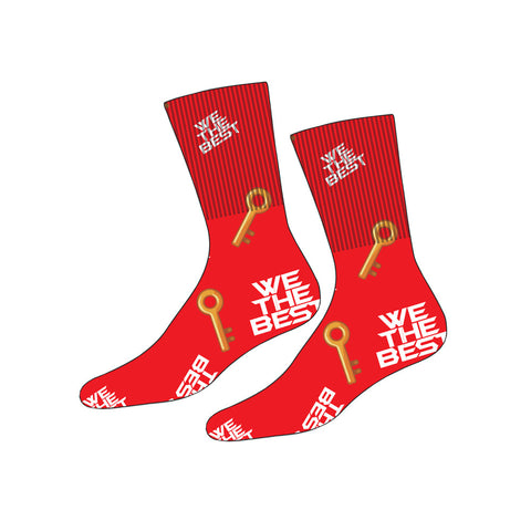 Red MAJOR KEY™ Socks