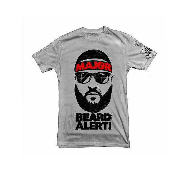 DJ KHALED x Beardsace Grey Major Beard Alert Collab Shirt