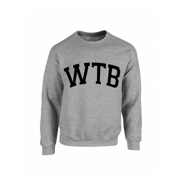 We The Best Grey Crewneck Sweatshirt