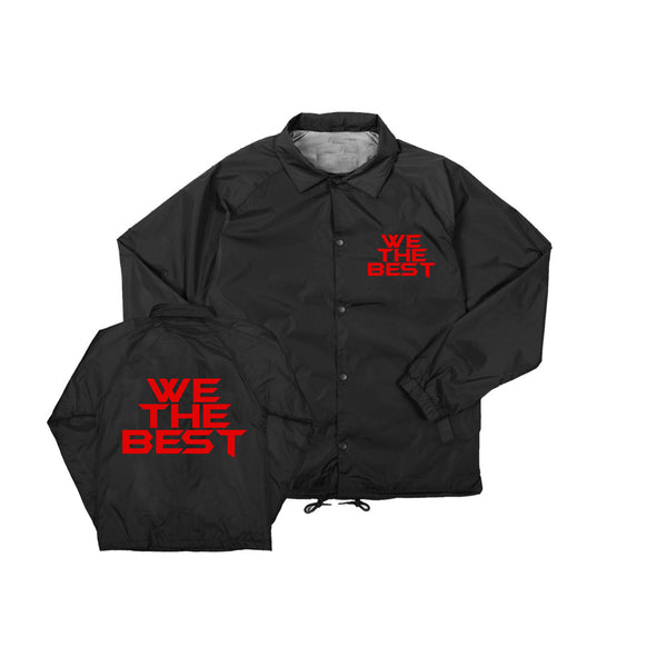 We The Best Windbreaker Red Logo