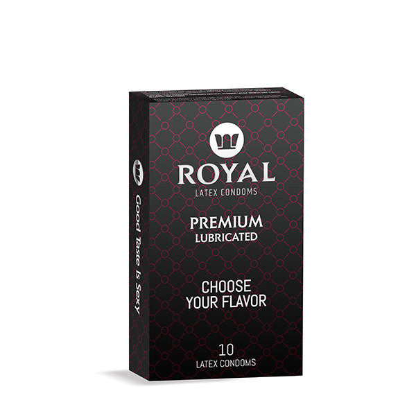 Royal Condoms - 1 pack of 10