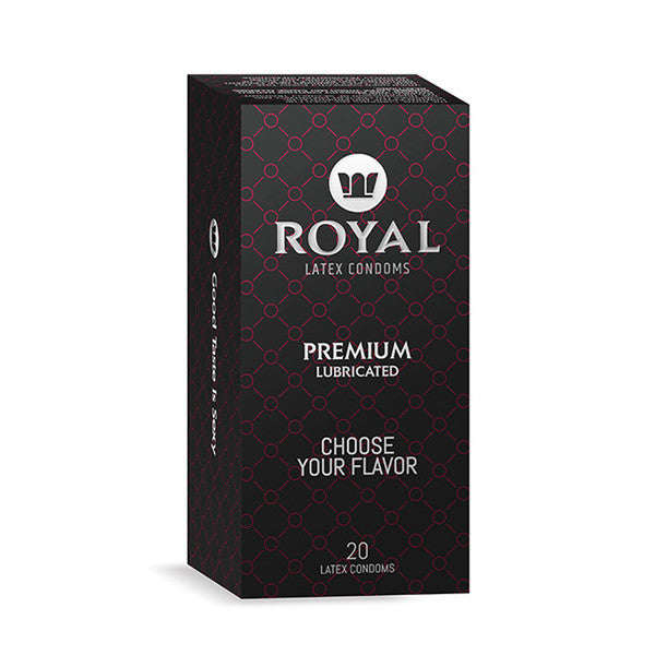 Royal Condoms - 1 pack of 20