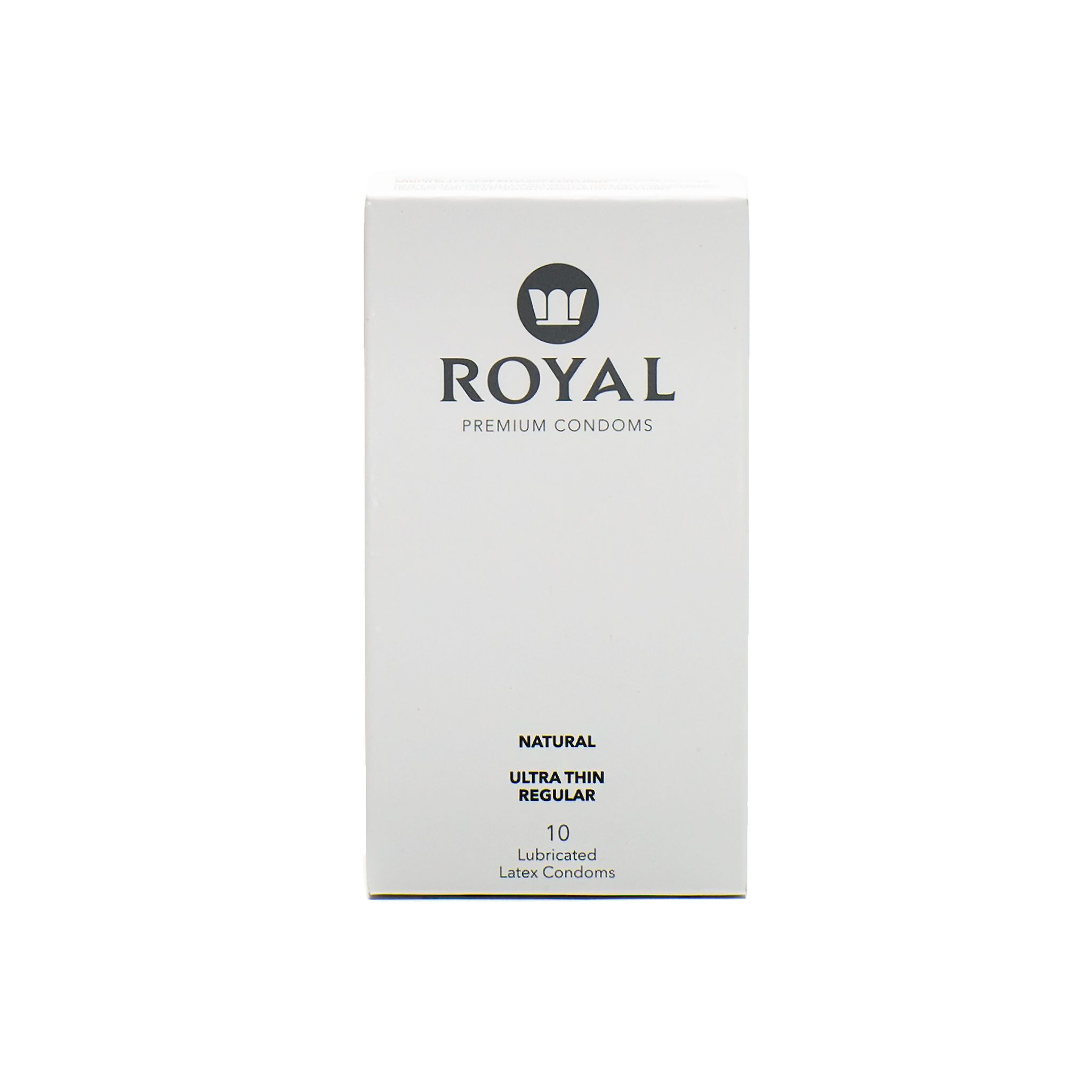 Tailored Fit Natural Condoms - Royal