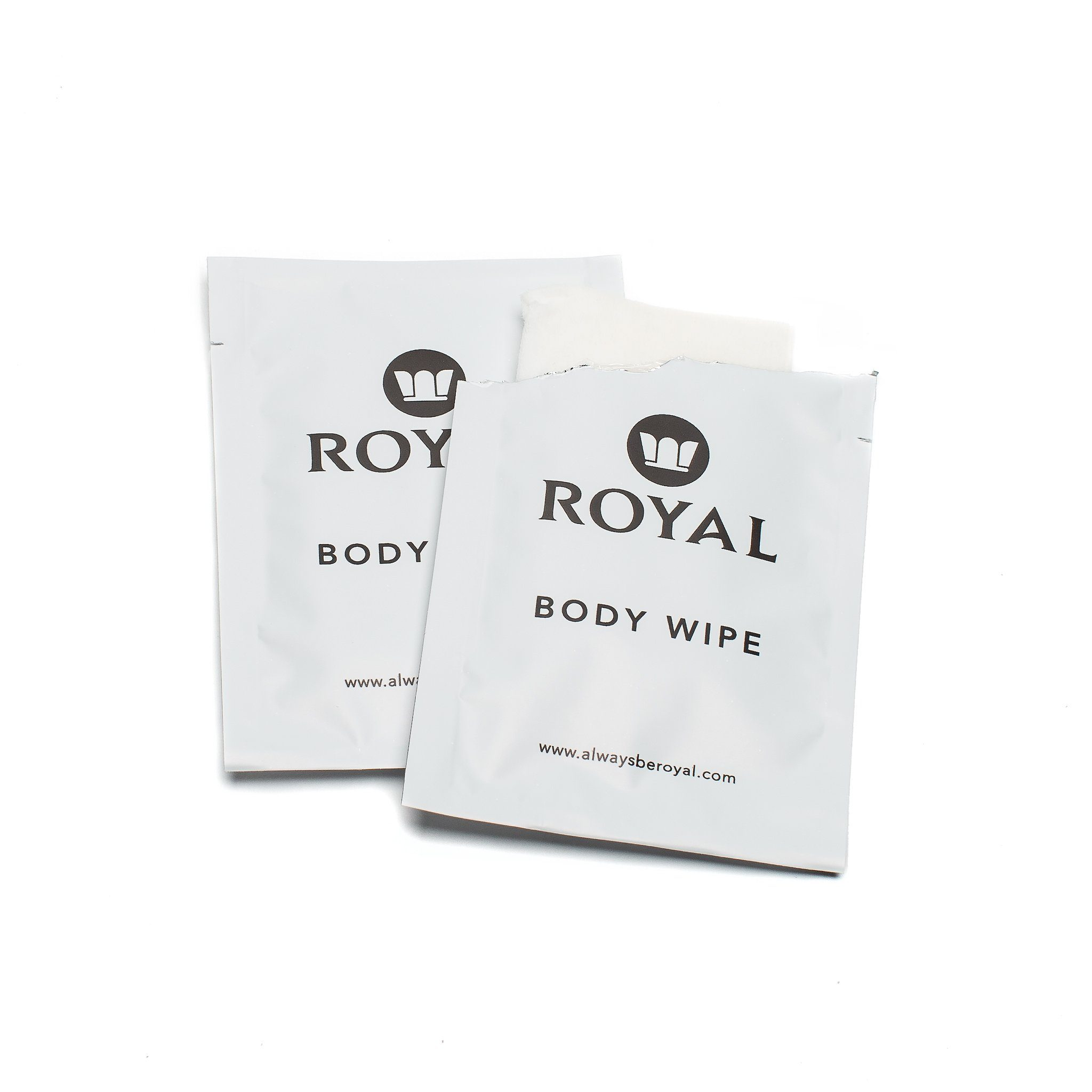 Single Wipes Box - Royal