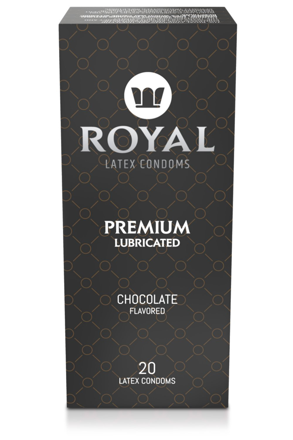 Chocolate Flavored Condoms - Royal