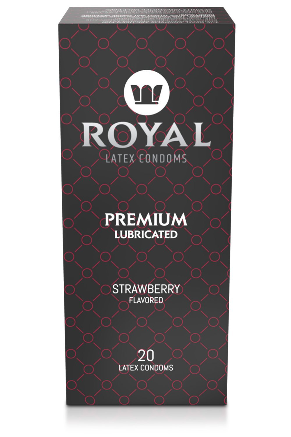 Strawberry Flavored Condoms - Royal