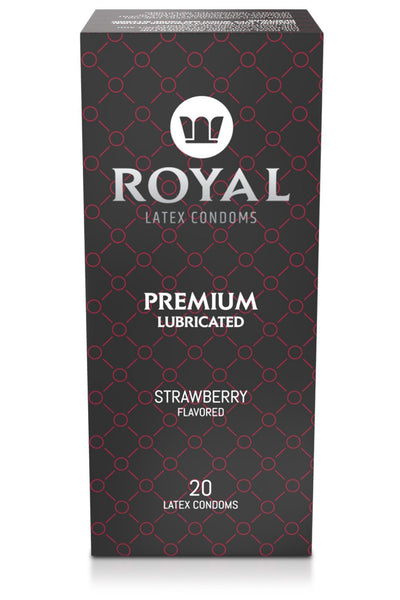 Royal Strawberry, 20 Pack