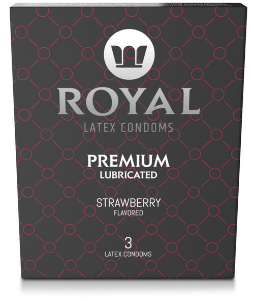 Royal Strawberry, 3 Pack