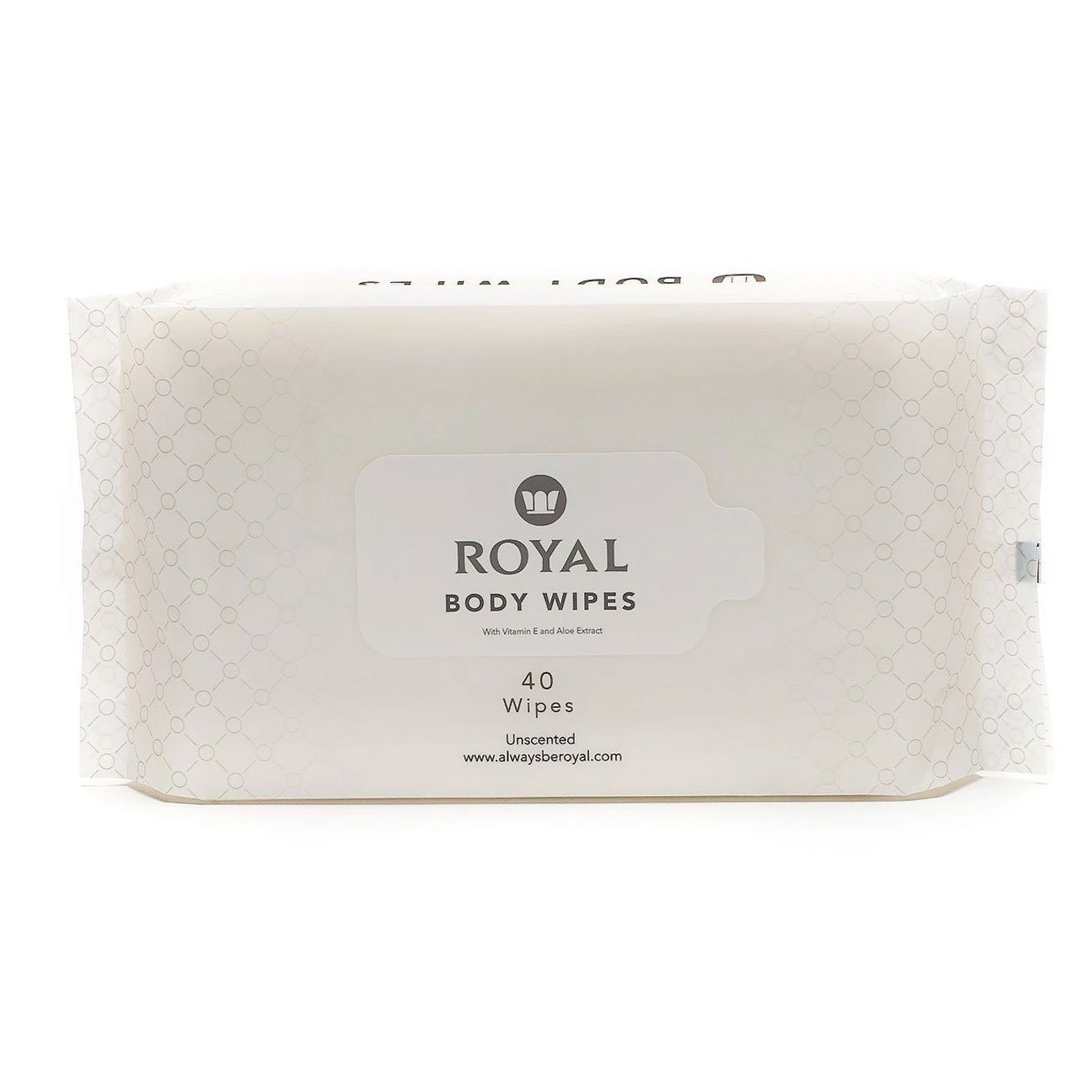 Body Wipes Pouch - Royal