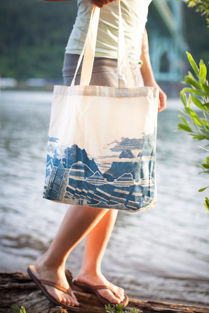 Geology Tote Bag - Eco Friendly Recycled Cotton - by Cognitive Surplus
