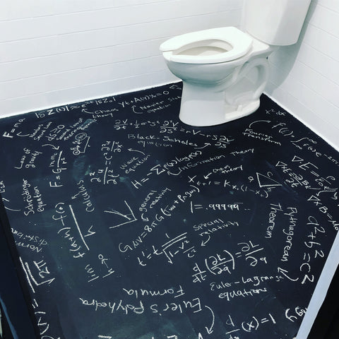 math bathroom = mathroom