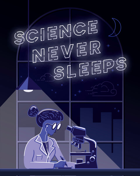 Share your #STEMstory Science Never Sleeps