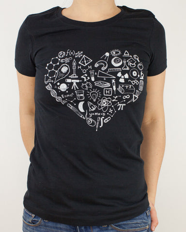 Science is Love Tee Shirt - Cognitive Surplus - 1