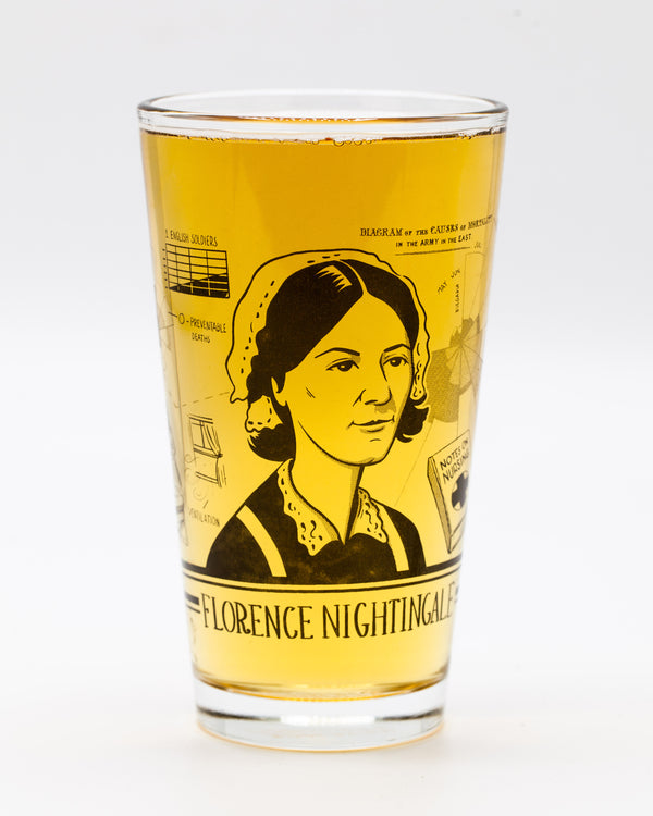 Florence Nightingale Pint Glass