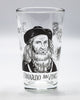 Leonardo DaVinci pint glass by Cognitive Surplus
