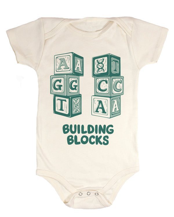 DNA Building Blocks Baby Bodysuit