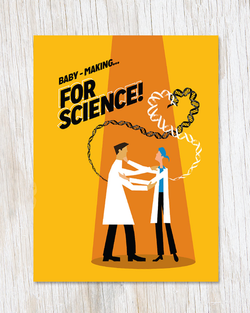 Baby-making… FOR SCIENCE Card - Cognitive Surplus
