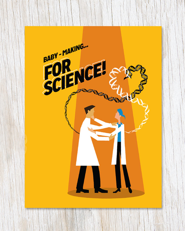 Baby-making… FOR SCIENCE Card - Cognitive Surplus - 2