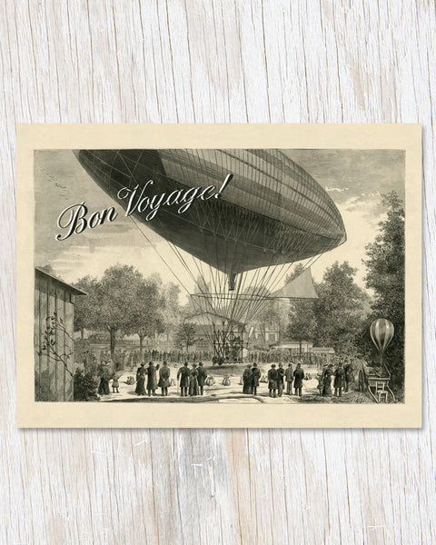 Bon Voyage Greeting Card - Cognitive Surplus