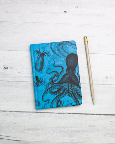 Cephalopods Mini Hardcover - Dot Grid