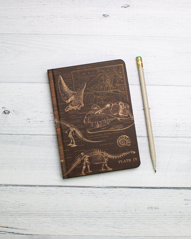 Dinosaur Mini Hardcover - Dot Grid