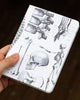 Case study mini hardcover skeleton recycled notebook pictured in hand by Cognitive Surplus