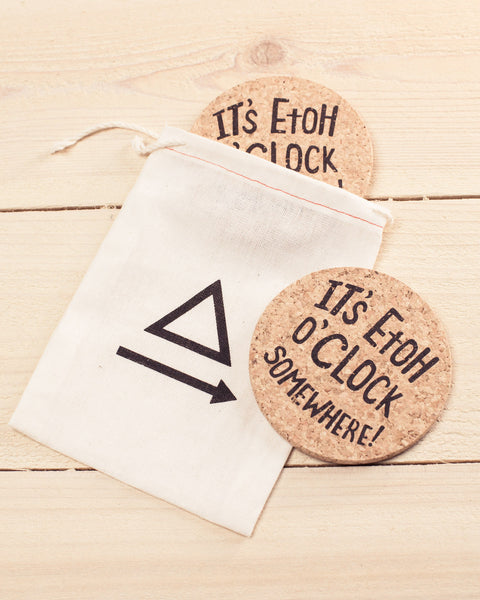 It's EtOH O'Clock Somewhere! Chemistry Coasters - Cognitive Surplus - 2