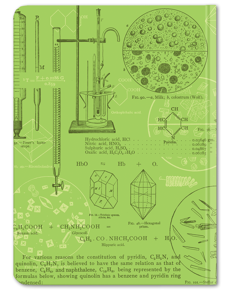 Chemistry Lab Hardcover - Dot Grid - Cognitive Surplus
