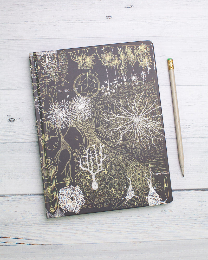 Neurons Hardcover - Dot Grid