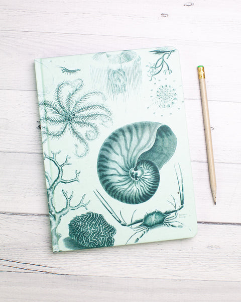 Shallow Sea Hardcover Journal - Lined/Blank