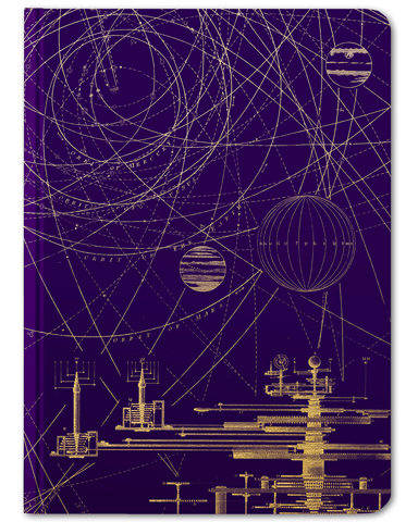 Planetary Motion Hardcover Journal - Large - Cognitive Surplus - 1