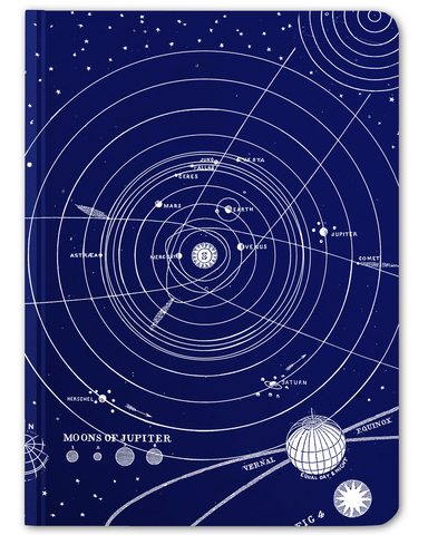 Solar System Hardcover Journal - Large - Cognitive Surplus - 1
