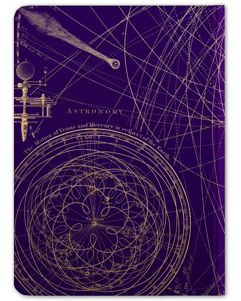 Planetary Motion Hardcover Journal - Large - Cognitive Surplus - 6