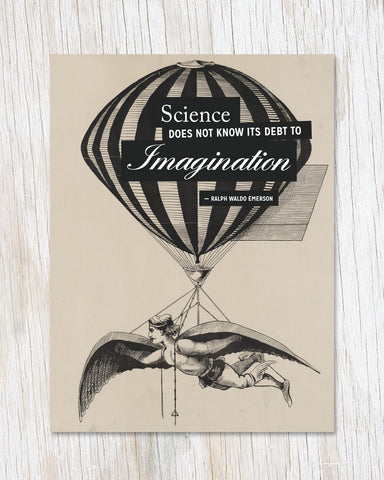 Imagination Greeting Card - Cognitive Surplus