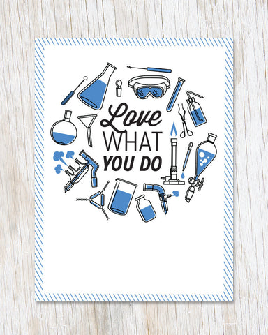 Love What You Do Greeting Card - Cognitive Surplus - 1